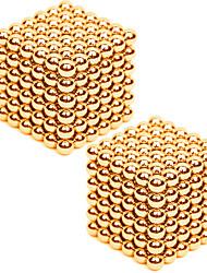 Недорогие -432 pcs 3mm Магнитные игрушки Магнитные шарики Конструкторы Сильные магниты из редкоземельных металлов Неодимовый магнит Неодимовый магнит Стресс и тревога помощи Товары для офиса Своими руками