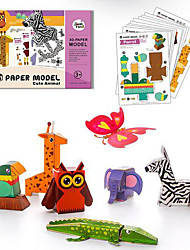cheap -3D Puzzle Paper 1 pcs Kid's Toy Gift