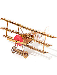 cheap -3D Puzzle Jigsaw Puzzle Metal Puzzle Plane / Aircraft Metalic 1 pcs Kid's Boys' Girls' Toy Gift