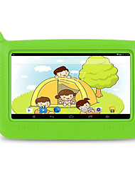 cheap -M713 7 inch Android Tablet (Android 4.4 1024 x 600 Quad Core 512MB+8GB) / 32 / TFT / Micro USB / TF Card slot / 3.5mm Earphone Jack