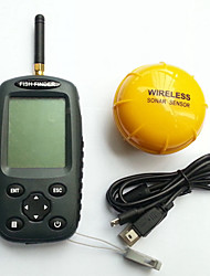 cheap -Fish Finder 4.1*4.8 inch LCD 0.6-40 m Wireless None Other