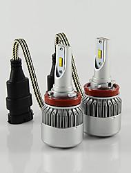 Недорогие -H11 Автомобиль Лампы 36W Высокомощный LED 3800lm Налобный фонарь For Великая стена / BMW / Ford
