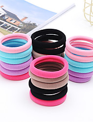 cheap -seamless hair band rubber band head rope simple bold towel korean jewelry hair rope 50 1box