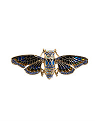cheap -Women's Brooches Animal Vintage Fashion Euramerican Rhinestone Brooch Jewelry Blue For Wedding Party Special Occasion Daily Casual