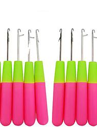 Недорогие -пластик Крючковые иглы для наращивания Повседневные Классика Розовый Фиолетовый