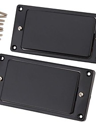 cheap -2pcs 1 Set Black Sealed Humbucker Pickup Set For LP Electric Guitar