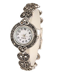cheap -Women's Bracelet Watch Quartz Silver Analog Silver
