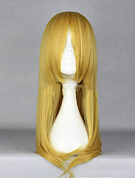 cheap -synthetic anime kousaka kirino long blonde cosplay wig Halloween