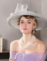 Недорогие -tulle basketwork шляпы головной убор свадебная вечеринка элегантный женский стиль