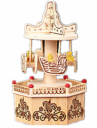 cheap -Music Box Music Jewelry box Ballet Dancer Wood Unisex Toy Gift