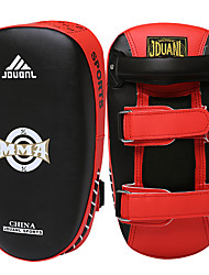 cheap -Boxing and Martial Arts Pad Punch Mitts Martial Arts Targets For Boxing Professional Level Speed Athletic Training PU Leather PU(Polyurethane) 1 pcs White Red