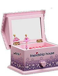 cheap -Music Box Ballerina Music Box Musical Jewellery Box Music Box Dancer Unique Wooden Women's Unisex Girls' Kid's Adults Kids Graduation Gifts Toy Gift