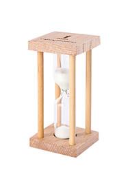 Недорогие -Маленький песочные часы маятник обратный отсчет 1/3 / 5 минут время мини стекло деревянный подарок