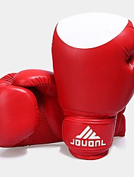 cheap -Boxing Training Gloves / Boxing Gloves For Boxing, Fitness Full Finger Gloves Breathable, Anatomic Design, Protective Black / Red