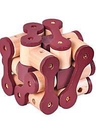 abordables -Puzzles en bois IQ Casse-Tête Cadenas Test de QI En bois Unisexe Jouet Cadeau
