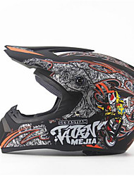 cheap -AHP 225 Motorcycle Motocross Helmet Adults Off-Road Helmet Full Face Racing Style Damping / Durable Fluorescent Black