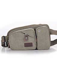 cheap -10 L Waist Bag / Waistpack Multifunctional Waterproof Dust Proof Wearable Outdoor Camping / Hiking Climbing Leisure Sports Brown Gray Coffee