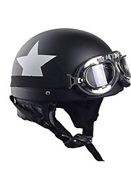 cheap -BAILIDE Half Helmet Adults Unisex Motorcycle Helmet  Flexible