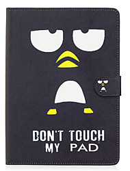 cheap -Case For Apple iPad Air / iPad 4/3/2 / iPad Air 2 Wallet / Card Holder / with Stand Full Body Cases Word / Phrase / Cartoon Hard PU Leather