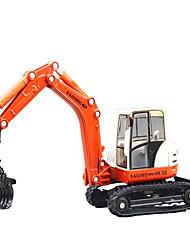 Недорогие -KDW пластик Экскаватор Игрушечные грузовики и строительная техника Игрушечные машинки Детские Игрушки на солнечных батареях
