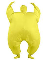 cheap -Wrestler Cosplay Costume Halloween Props Inflatable Costume Men's Women's Movie Cosplay Halloween Leotard / Onesie Air Blower Halloween New Year Polyester
