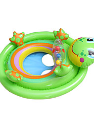 cheap -Inflatable Pool Float Swim Rings Inflatable Ride-on Inflatable Pool PVC(PolyVinyl Chloride) Summer Pool Kid's Adults'
