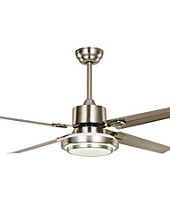 cheap -1-Light Ecolight™ 130 cm LED / Designers Ceiling Fan Metal Nickel Vintage / Country 220-240V