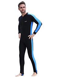 cheap -Men's Rash Guard Dive Skin Suit Diving Suit SPF30 UV Sun Protection Breathable Full Body Front Zip - Diving Fashion Spring Summer / Quick Dry / Anatomic Design / Stretchy / Quick Dry