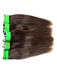 cheap -Human Hair Remy Weaves Straight Indian Hair 500 g 6 Months