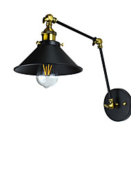 cheap -Rustic / Lodge / Traditional / Classic LED Wall Lights Metal Wall Light 110-120V / 220-240V 4 W / E27