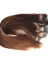 cheap -Human Hair Remy Weaves Straight Brazilian Hair 1000 g 6 Months