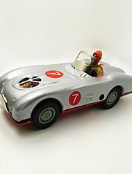 Недорогие -Игрушечные машинки Игрушка с заводом Гоночная машинка Автомобиль Железо Металл 1 pcs Детские Игрушки Подарок