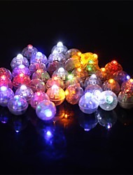 cheap -50Pcs/Set Round Led Rgb Flash Ball Lamps Balloon Lights For Lantern Christmas Wedding Party Decoration