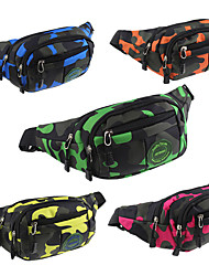 cheap -Fanny Pack Waist Bag / Waist pack Running Pack 10 L for Camping / Hiking Climbing Leisure Sports Sports Bag Multifunctional Breathable Rain Waterproof Running Bag / iPhone X / iPhone XS Max