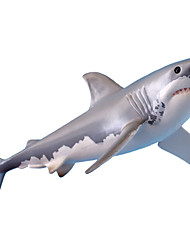 cheap -Action & Toy Figure Shark Marine animal Educational Plastic Kids Party Favors, Science Gift Education Toys for Kids and Adults