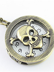 Недорогие -Муж. Модные часы Карманные часы Кварцевый Бронза Аналоговый Белый