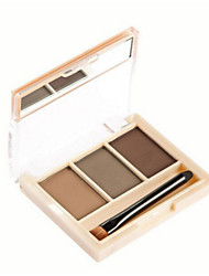 cheap -Eyeshadow Palette Eyebrow Pencil Powders Waterproof 1 pcs Makeup Eye Dry Natural Curly Cosmetic Grooming Supplies