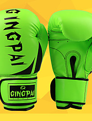 cheap -Exercise Gloves / Boxing Bag Gloves / Boxing Training Gloves For Boxing, Leisure Sports, Fitness, Muay Thai Full Finger Gloves Waterproof, Stretchy, Protective PU(Polyurethane) Yellow / Red / Green