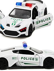 Недорогие -Игрушечные машинки Модель авто Лошадь Звуковое сопровождение моделирование Металлический сплав пластик Сплав металла для Детские Мальчики