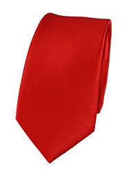 abordables -Homme Soirée / Travail Cravate Couleur Pleine