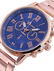 cheap -Women's Fashion Watch Quartz Casual Analog Gold Green Dark Blue