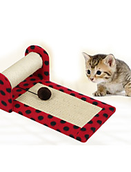 cheap -Interactive Cat Cat Toy Pet Toy 1 Scratch Pad Durable Plush Gift
