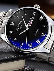 cheap -Women's Fashion Watch Quartz Silver Analog Casual - White Black