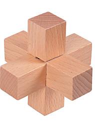 abordables -Puzzle Puzzles en bois IQ Casse-Tête Amusement Test de QI Bois Classique Unisexe Jouet Cadeau