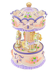 cheap -Music Box Toys Cylindrical Resin Pieces Unisex Gift