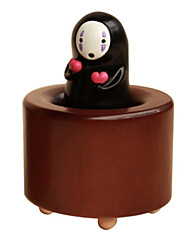 cheap -Music Box Toys Cylindrical Wood Rubber Pieces Unisex Gift