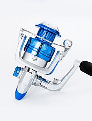 cheap -Fishing Reel / Ice Fishing Reel Spinning Reel / Carp Fishing Reels 5.21 Gear Ratio+10 Ball Bearings Hand Orientation Exchangable Bait Casting / Ice Fishing / Spinning - LA1000; LA2000 / Bass Fishing
