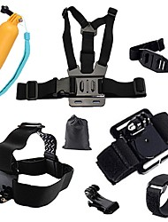 cheap -Sports Action Camera Chest Harness Front Mounting Multi-function Foldable Adjustable 1 pcs For Action Camera Gopro 6 All Gopro Xiaomi Camera Gopro 4 Session Gopro 4 Black Diving Surfing Ski / SJCAM