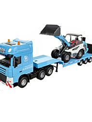 abordables -1:60 Métallique Caoutchouc Véhicule de Construction Camions Véhicules de Construction Petites Voiture Enfant Jouets de voiture