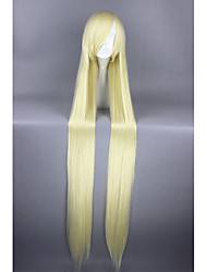 cheap -Synthetic Wig Cosplay Wig Straight Straight Wig Blonde Very Long Yellow Synthetic Hair Women's Blonde